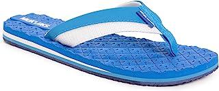 MUK LUKS Men CHILL Thong-Trueblue Flip-Flop, Cooler True Blue, 9