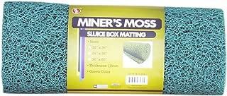 "SE GP-MT415-2GG 12"" x 36"" Green Miner's Moss (Sluice Box Matting)"
