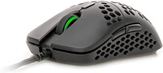 HK Gaming Mira M Ultra Lightweight Honeycomb Shell Wired RGB Gaming Mouse - Up to 12 000 cpi   6 Buttons - 63g Only (Mira-...
