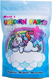 Unicorn Toots Neek's Cotton Candy Gag Gift Bag Dandy. Fun and Funny Delicious Blue Flavor. Thick Zipper Keeps Fresh for 9 Months. Birthday Party Gift for Girls and Boys. Holiday Supplies Favors