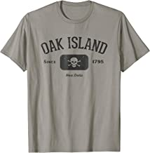 Oak Island Pirate Skull and Crossbones Gift Shirt