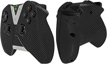 Skinomi Black Carbon Fiber Full Body Skin Compatible with NVIDIA Shield TV (Controller Kit only)(2015)(Full Coverage) TechSkin Anti-Bubble Film