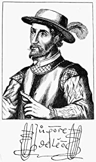 Juan Ponce De Leon N(1460-1521) Spanish Explorer And Colonial Administrator In America Line Engraving 18Th Century With Autograph Signature Poster Print by (24 x 36)