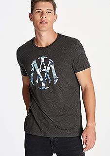 Kamuflaj Desenli Mühür Logo Tişört