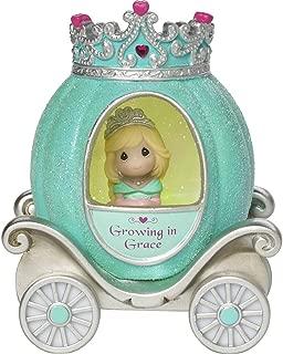 Precious Moments, Grace Princess Carriage, Resin/Vinyl LED Light-Up Figurine, 164401