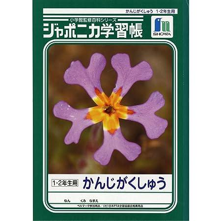 ショウワノート 学習帳 ジャポニカ 漢字学習 1・2年生用 B5 5冊パック JL-53*5