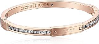 Michael Kors - Pulsera de bisagras plateadas