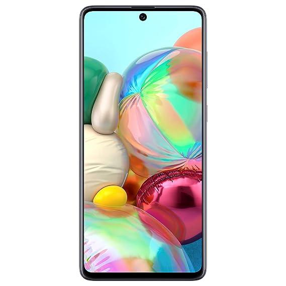 Samsung Galaxy A71 (Prism Crush Silver, 8GB RAM, 128GB Storage) Without Offer