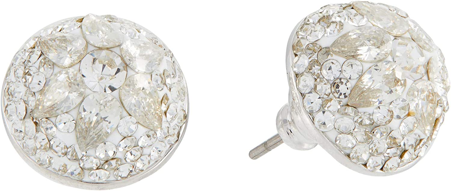 Kate Spade New York Brilliant Statements Motif Dome Studs Earrings