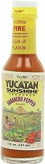 Try Me Yucatan Sunshine Habanero Pepper Sauce, 5-Ounce Bottles (Pack of 6)