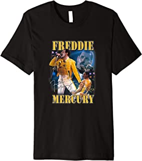 Freddie Mercury Official Live Homage Champion Premium T-Shirt
