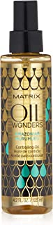 MATRIX Oil Wonders Amazonian Murumuru Controlling Oil for Frizzy Hair, 4.2 Fl Oz