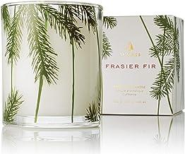Thymes - شمع شیشه تزئینی شیشه ای کاج تزئینی Frasier با مدت زمان سوختگی 50 ساعته - 6.5 اونس
