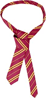 JQWORKLAND School Tie Cosplay Party Costume Accessory for Christmas Halloween Party Red