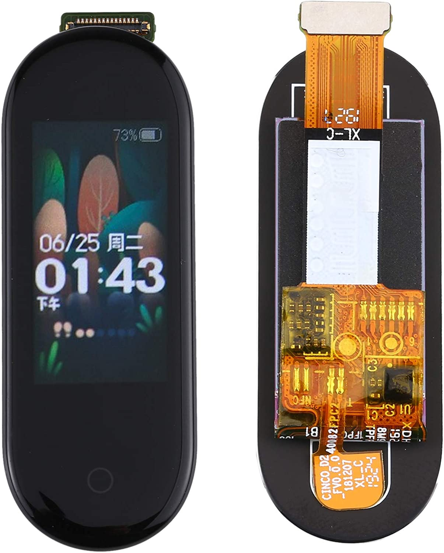 Zhangxia Pantalla LCD del teléfono móvil Pantalla LCD y digitalizador Asamblea completa para Xiaomi Mi Band 4 Accesorios del teléfono
