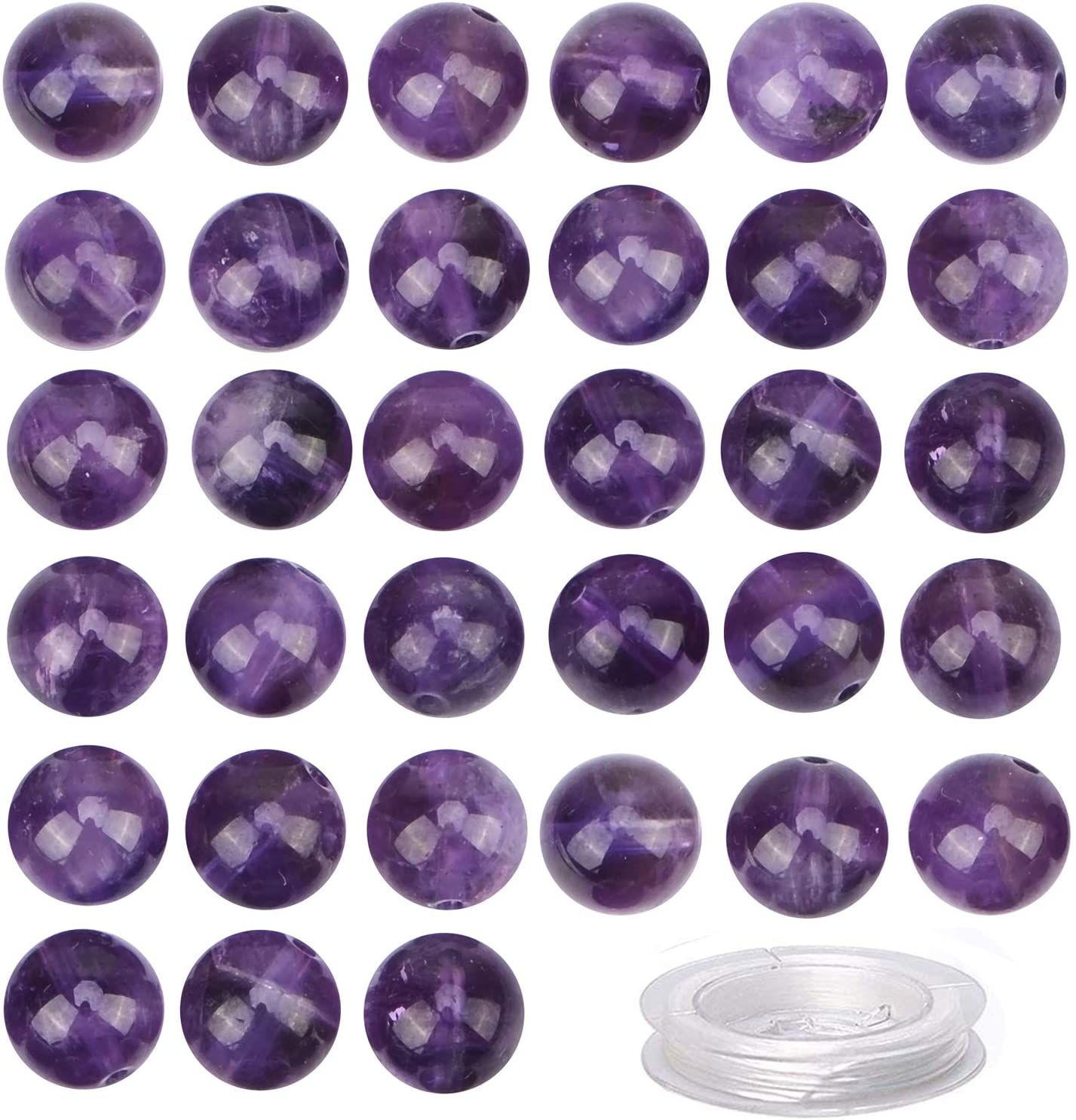 10 pcs of 20mm Carved natural gemstone beads clear quartz,amethyst rose quartz flower gemstone loose beads hand made jewelry charms L463