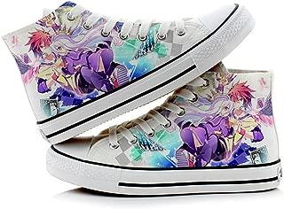 Telacos NO Game NO Life Sora Shiro Cosplay Shoes Canvas Shoes Sneakers