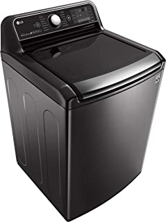 LG 18 Kg Top Load Full Automatic Washing Machine with Inverter Direct Drive Motor, Black Silver - T1872EFHSTL, 1 Year Warranty