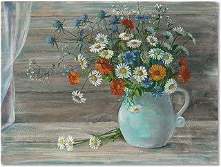 Lefgnmyi Vases Still Iife, affiches d'impression Hd de fleurs de l'europe Type Style décoration de la maison peinture pein...