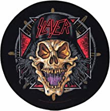 XLG Slayer Wehrmacht Thrash Metal Music Woven Back Jacket Patch Applique