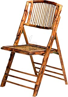 Commerical Seating Products BO-100-SB Bamboo Folding Chairs, Wood