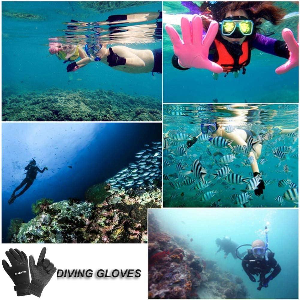 Thermal Anti Slip Flexible Dive Water Gloves for Spearfishing Swimming Rafting Kayaking Paddling Wetsuit Gloves Neoprene Scuba Diving Gloves Surfing Gloves 3MM 5MM for Men Women Kids