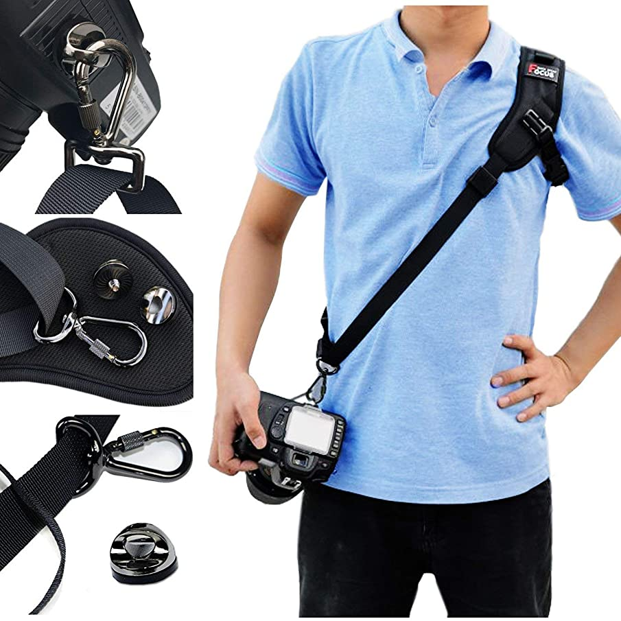 AROYEL Camera Neck Strap, Camera Strap with Quick Release Safety Tether, Comfortable Durable Adjustable Camera Shoulder Sling for DSLR SLR, Universal Camera Shoulder Strap with Nonslip Breathable S