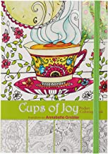 """Cups of Joy"" Pocket Edition Inspirational Adult Coloring Book"