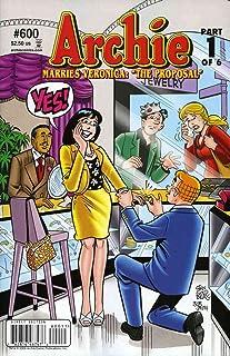 Archie #600 VF/NM ; Archie comic book