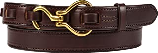 Hoof Pick Style Leather Belt, 100% Full Leather, Amish Crafted in Lancaster, PA