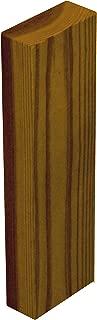 【2×4材/ツーバイフォー材】 DIY素材 国産杉(新材) 厚38mm×幅89mm×長さ300mm(長さ30cm) ナッツ色(屋内専用)