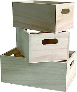 comprar comparacion Artemio - Juego de 3 Cajas para Almacenamiento, Color Beige