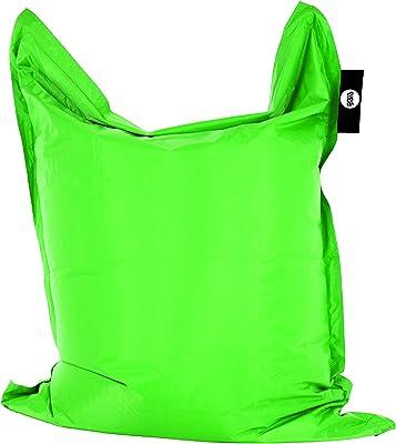 Amazon.com: Sofá puf silla, Microfibra, Carbón ...