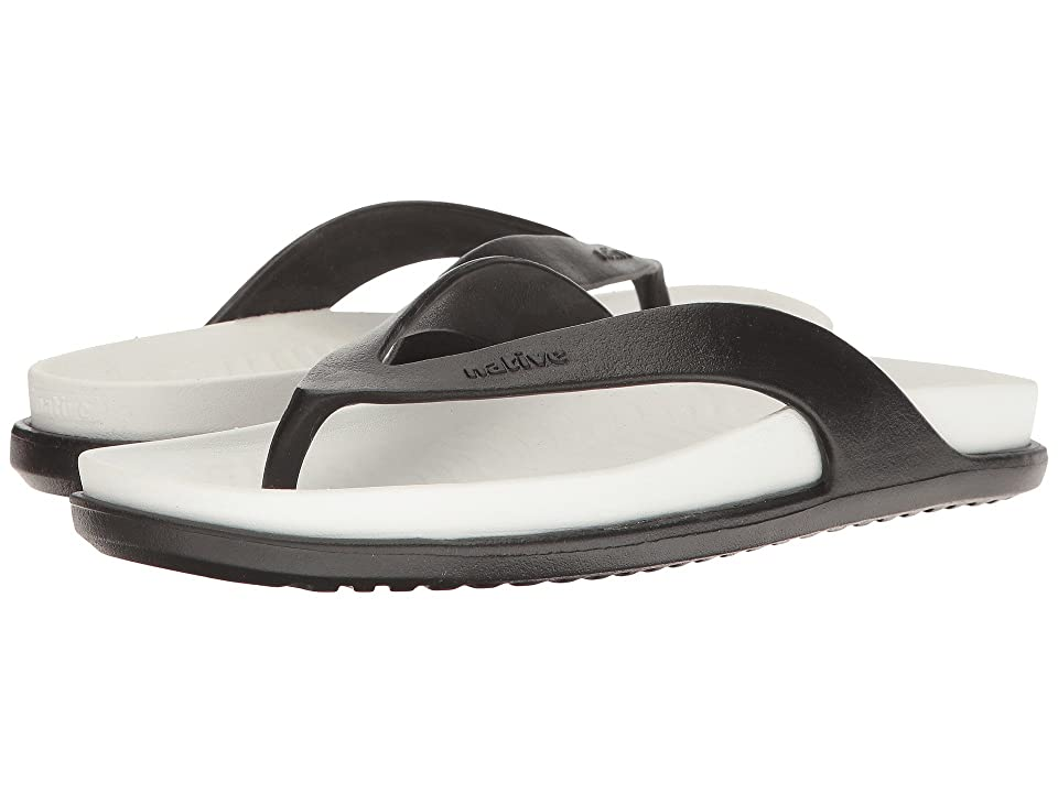 Native Shoes Yates LX (Jiffy Black/Shell White) Sandals
