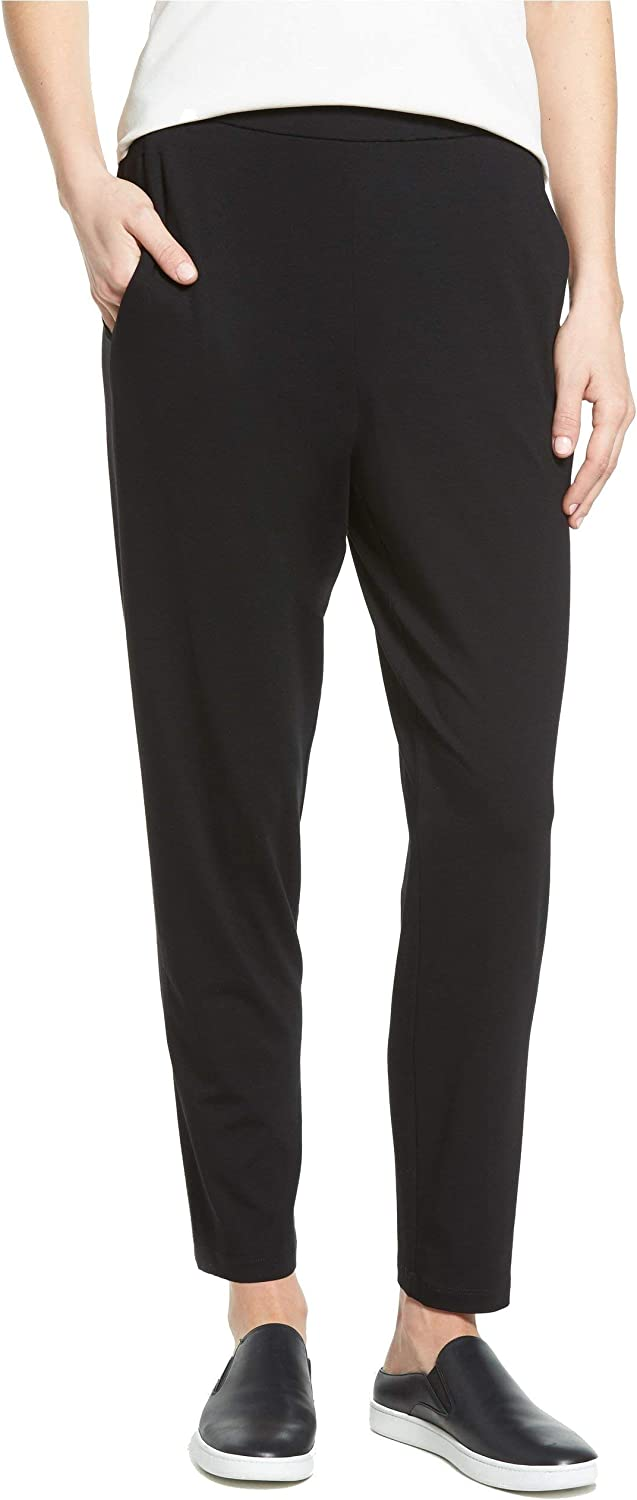 Eileen Fisher Slim Ankle Slouchy Pants