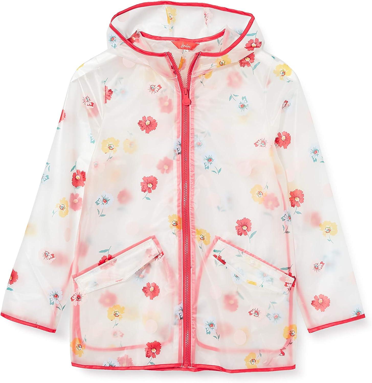 Joules Raindance Clear Impermeabile di Gomma Bambina