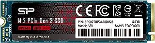 シリコンパワー SSD 2TB 3D TLC NAND M.2 2280 PCIe3.0×4 NVMe1.3 P34A80シリーズ 5年保証 SP002TBP34A80M28