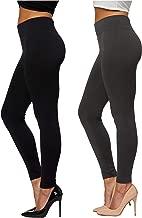 Best 2 pack ladies leggings Reviews