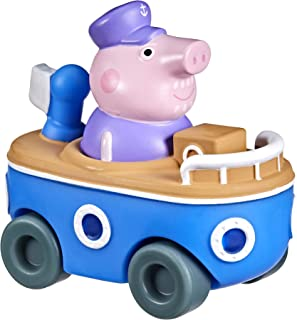 Peppa Pig Peppa's Adventures Little Buggy Vehicle Preschool Toy for Ages 3 and Up (Grandpa Pig in His Boat)