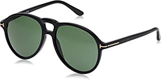 Tom Ford Aviator Sunglasses for Women - Green Lens, FT0645-01N