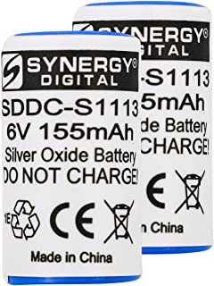 Synergy Digital Battery Compatible with Pet Stop Invisible Fence 700 7K Dog Collar Battery Combo-Pack Includes: 2 x DC-29 Batteries