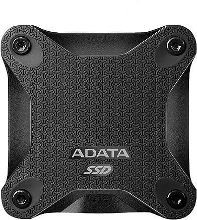 $42 Get ADATA SD600 3D NAND 256GB USB3.1 Ultra-Speed External Solid State Drive Read up to 440 MB/s Black (ASD600-256GU31-CBK)