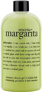 1シャワージェル480ミリリットルで哲学セニョリータマルガリータ3 (Philosophy) (x6) - Philosophy Senorita Margarita 3 in 1 Shower Gel 480ml (Pack of 6) [並行輸入品]