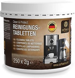 Coffeeano Lot de 200 pastilles de nettoyage pour machines à café et machines à café Clean&Protect Compatible avec Jura, Si...