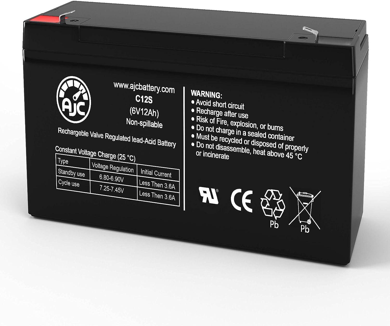 Rapid rise Elan ST2A 6V 12Ah Emergency Light Battery is Brand This - AJC Bargain an