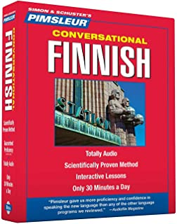 Pimsleur Finnish Conversational Course - Level 1 Lessons 1-16 CD: Learn to Speak and Understand <> with Pimsleur Language Programs