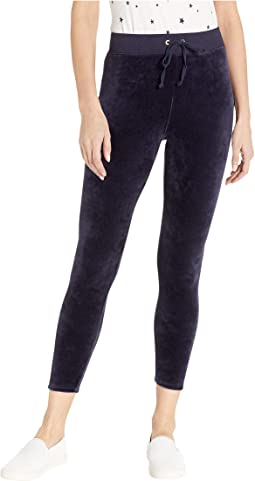Track Stretch Velour Rodeo Drive Leggings