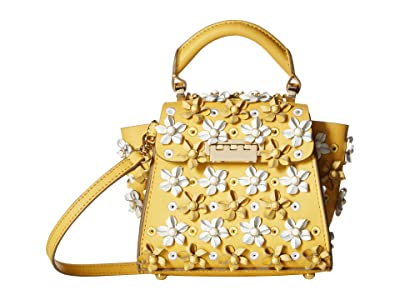 ZAC Zac Posen Eartha Kit Mini Top-Handle (Honey 1) Handbags