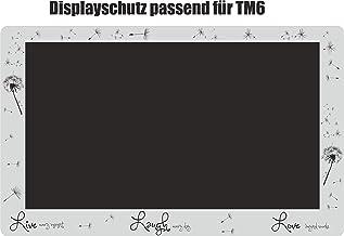 Displaybeschermfolie voor TM6 paardenbloem live zwart