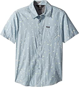 Quency Dot Short Sleeve Shirt (Big Kids)